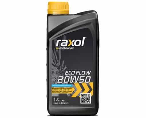 Масло RAXOL ECO FLOW 20W50 - 1 литър