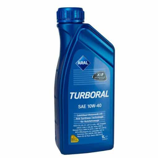 Масло Aral Turboral 10w40 - 1 литър