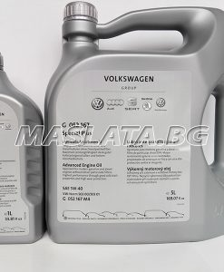 5w40 оригинално масло за ауди G052 167 M4