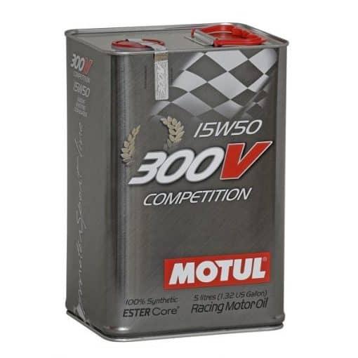 Масло MOTUL 300V Competition 15w50 - 5 литра