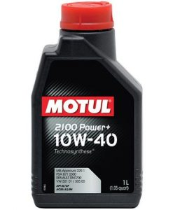 Масло MOTUL 10W40 2100 Power Plus - 1 литър