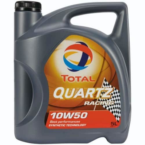 Масло TOTAL QUARTZ RACING 10W50 - 5 литра