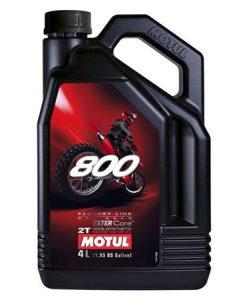 Масло MOTUL 800 2T Off Road - 4 литра