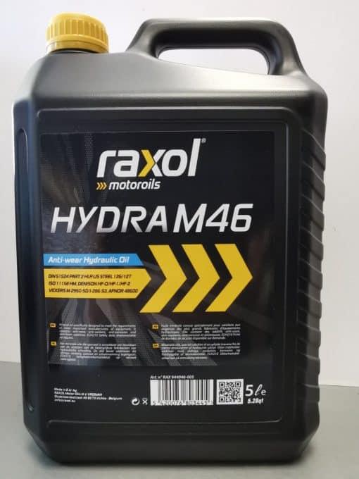 Хидравлично масло RAXOL HYDRA M 46 - 5L