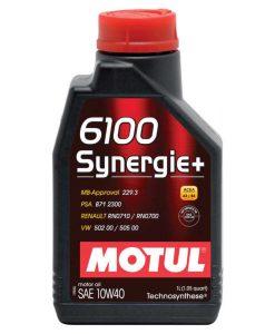 Масло Motul 6100 Synergie plus 10w40 - 1 литър