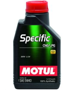 Масло MOTUL Specific CNG/LPG 5W40 - 1 литър