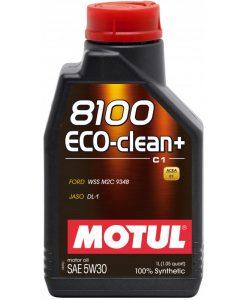 Масло MOTUL 8100 Eco-clean+ 5W30 - 1 литър