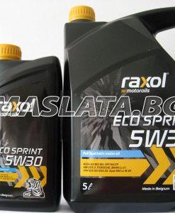 Масло Raxol Eco Spirit 5W30