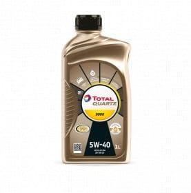 Масло Total QUARTZ 9000 5W40 - 1 литър