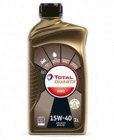 Масло TOTAL QUARTZ 5000 15W40 - 1 литър