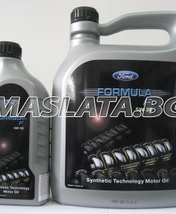 ОРИГИНАЛНО МАСЛО ЗА ФОРД 5w40 Formula S/SD Synthetic Technology Engine Oil - 5литра