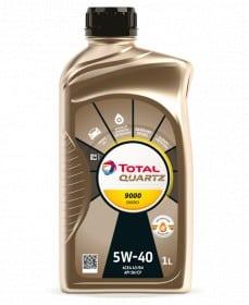Масло Total QUARTZ ЕNERGY 9000 5W40 - 1 литър