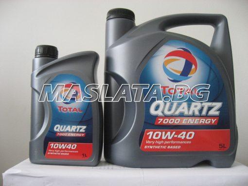 Масло TOTAL Quartz 7000 Energy 10w-40