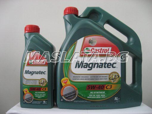 Масло CASTROL Magnatec C3 5w-40