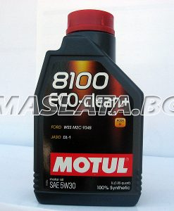 Масло MOTUL 5W30 8100 Eco clean plus