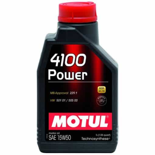 Масло MOTUL 4100 POWER 15W50 - 1 литър