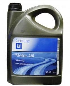 Оригинално масло за Opel 10W40 GM - 5 литра