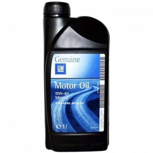 Оригинално масло за OPEL GM 15W40 - 1 литър