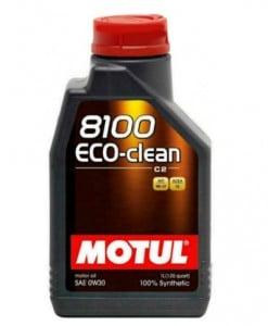 Масло MOTUL 8100 ECO-CLEAN 0W30 - 1 литър