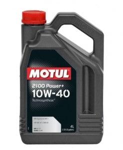 Масло MOTUL 2100 Power+ 10W40 - 4 литра