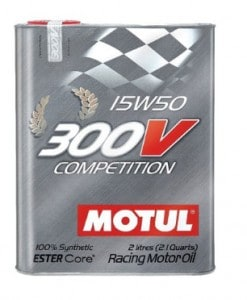 Масло MOTUL 300V Cometition15w50 - 2 литра