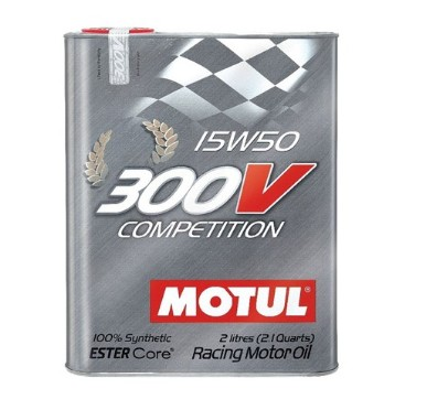 Масло MOTUL 300V Cometition15w50 - 2 литра
