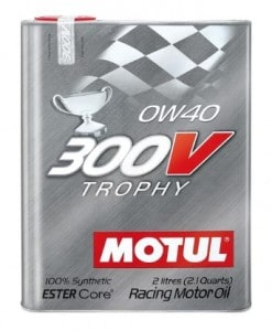 Масло MOTUL 300V Trophi 0W40 - 2 литра