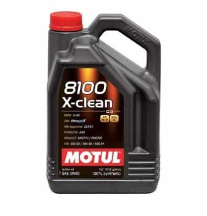 Масло MOTUL 8100 X-CLEAN 5W40 - 5 литра