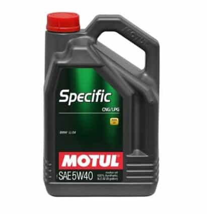 Масло MOTUL Specific CNG/LPG 5W40 - 5 литра
