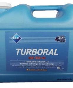 Масло Aral Turboral 10w40 - 5 литра