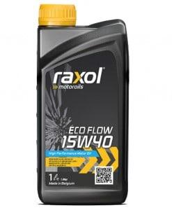 Масло RAXOL ECO FLOW 15W40 - 1 литър