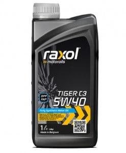 Масло RAXOL TIGER C3 5W40 - 1 литър