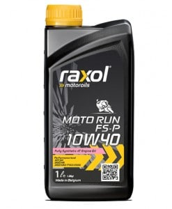 Масло RAXOL MOTO RUN 10W40 за мотори - 1 литър