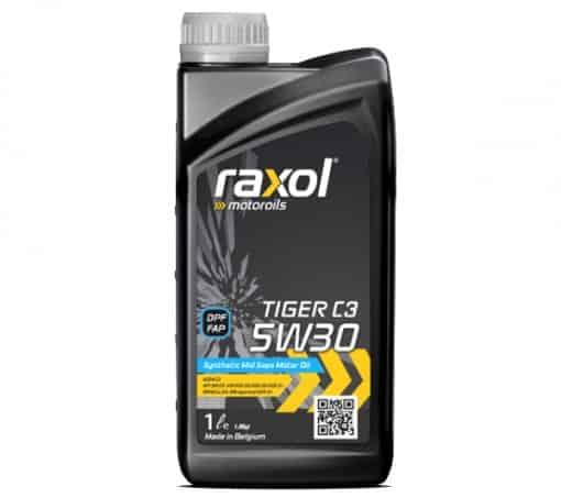 Масло RAXOL TIGER C3 5W30 - 1 литър