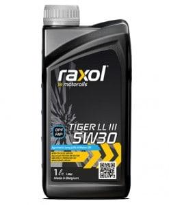Масло RAXOL TIGER LL III 5W30 - 1 литър