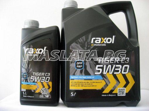 Автомобилно масло RAXOL TIGER C3 5W30