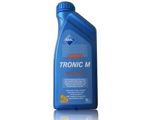 Масло Aral High Tronic M 5w40 - 1 литър