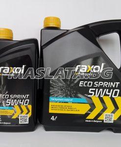 Синтетично масло 5w40 Raxol Eco Spirit