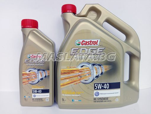 Масло CASTROL Edge Turbo Diesel 5W-40
