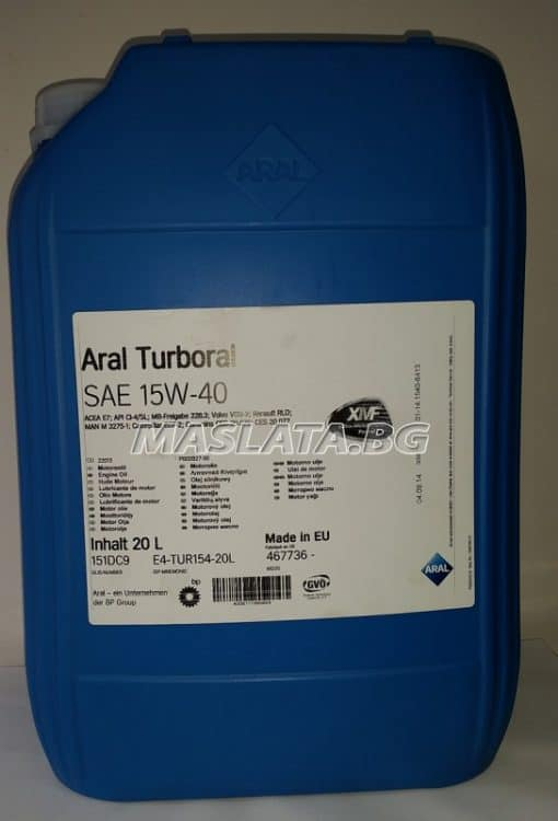 Масло Aral Turboral 15w-40