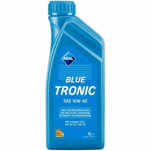 Двигателно масло 10w40 Aral Blue Tronic - 1 литър