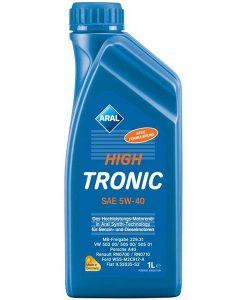 Двигателно масло 5w40 Aral Hight Tronic High NEU - 1 литър