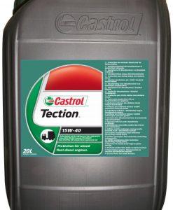 Масло CASTROL TECTION 15W40 за камиони - 20 литра