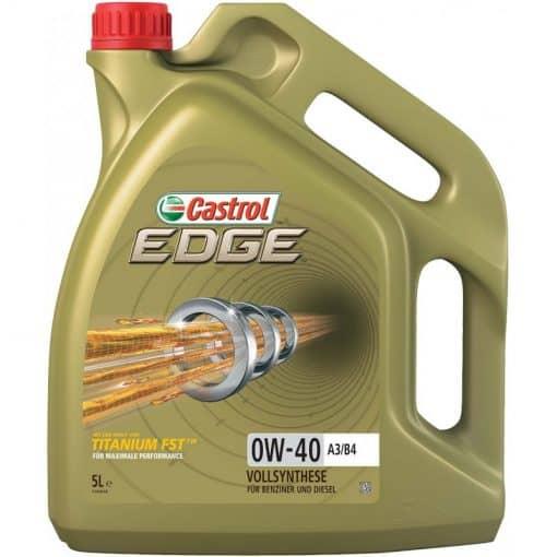 Масло CASTROL EDGE 0W40 A3/B4 – 5 литра