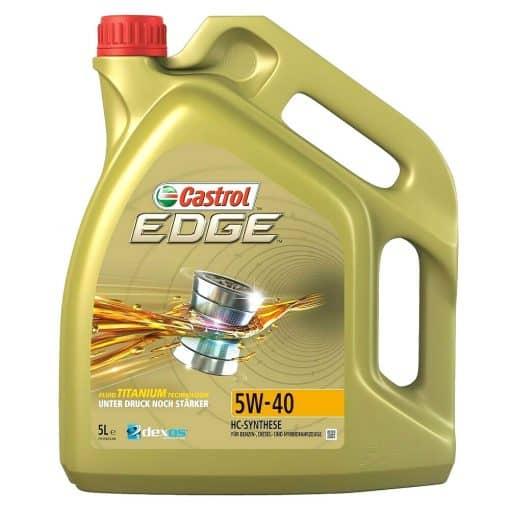 Масло CASTROL EDGE 5W40 – 5 литра
