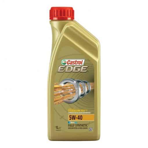 Масло CASTROL Edge 5W40 Бензин Газ Метан - 1 литър