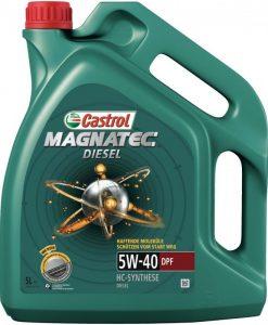 Масло CASTROL Magnatec Diesel 5w40 DPF - 5 литра