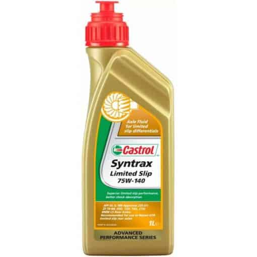 Масло CASTROL SYNTRAX LIMITED SLIP 75W140