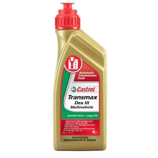 Масло CASTROL TRANSMAX DEX 3 MULTIVEHICLE - 1 литър