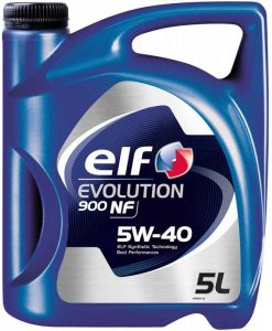 Масло ELF EVOLUTION 900NF 5W40 - 5 литра
